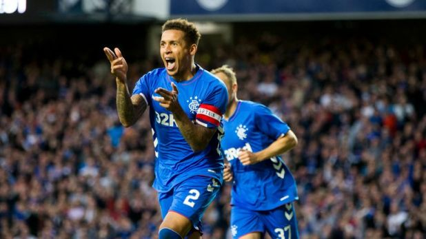James Tavernier scored a penalty as Rangers beat NK Maribor on Thursday evening.