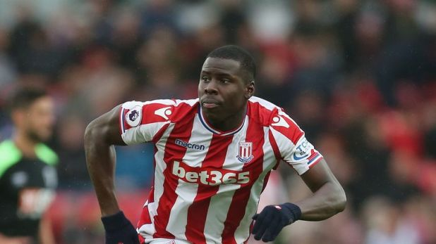 Kurt Zouma went on loan to Stoke last season