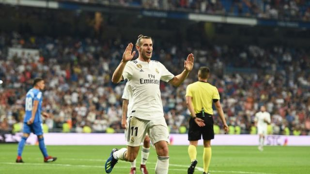 Gareth Bale was one of the first nominees for the 2018 Ballon d'Or