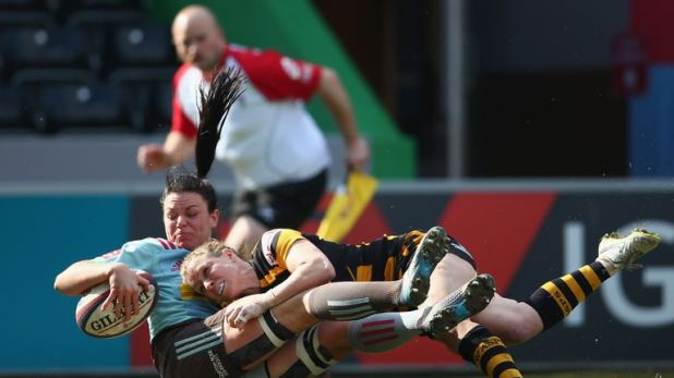Wasps Ladies lost out to Harlequins in the semi-final of last season's inaugural Tyrrells Premier Xv's campaign