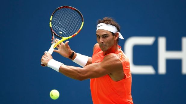 Nadal was tested for the second match running in New York