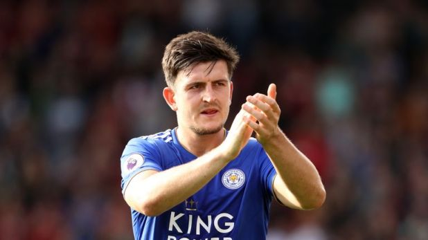 Harry Maguire was close to getting sent off against Bournemouth