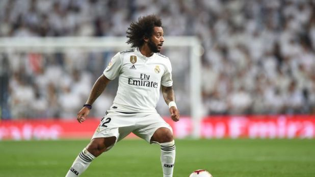 Marcelo has been at Real Madrid since 2007