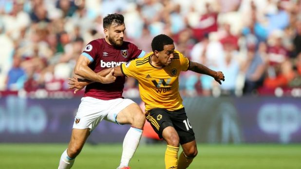West Ham suffered an injury-time defeat against Wolves in their last Premier League match