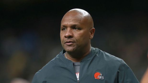 Two-time NFL head coach Hue Jackson has been interviewed for the Arizona Cardinals offensive coordinator positions