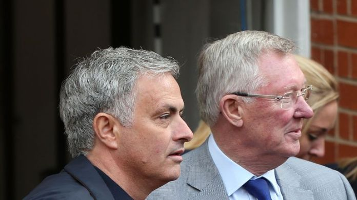 Mourinho says Sir Alex Ferguson only gave him one piece of advice during his tenure at Old Trafford
