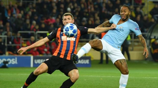 Manchester City beat Shakhtar Donetsk 3-0 in October