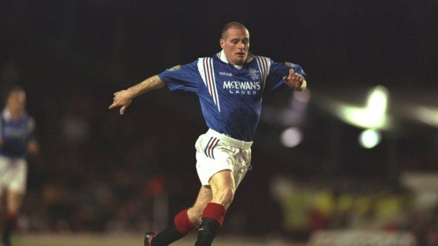 Paul Gascoigne made 74 appearances for Rangers