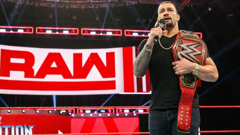 Roman Reigns has been off WWE television since October as he is being treated for leukaemia
