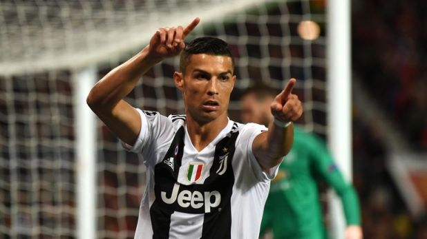 Cristiano Ronaldo will face his former club manchester United on Wednesday