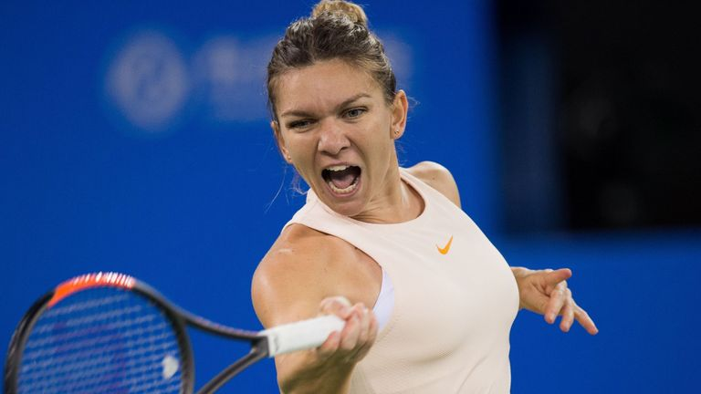 Simona Halep Pulls Out Of Wta Finals Due To Back Injury Tennis