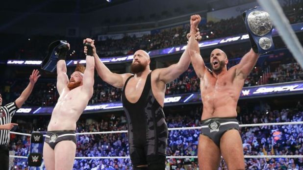 The Bar, thanks to the ongoing assistance of The Big Show, remain SmackDown tag champions