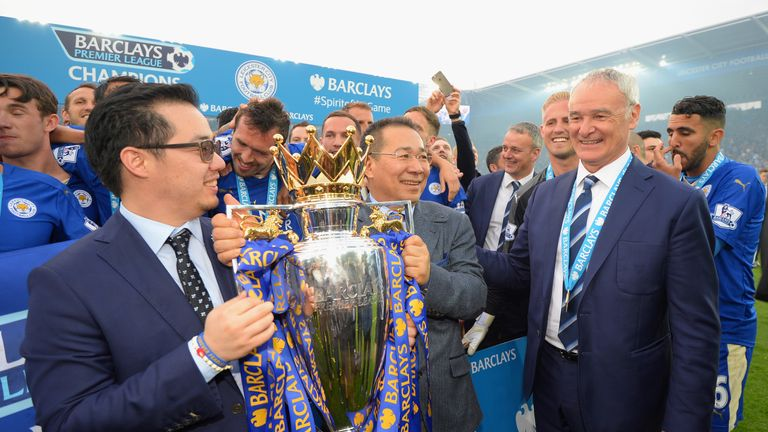 Leicester went from League One to Premier League champions under Vichai Srivaddhanaprabha's ownersip