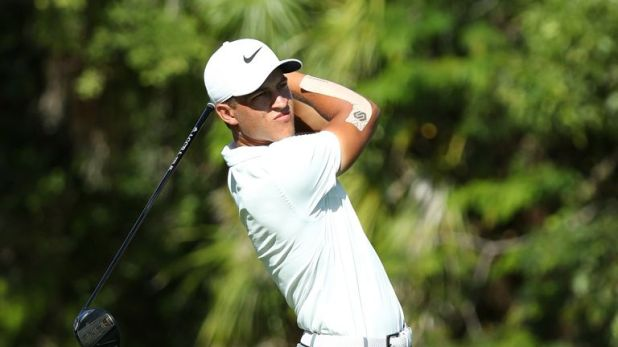 Champ is in his rookie season on the PGA Tour
