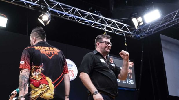 James Wade is back in the big time