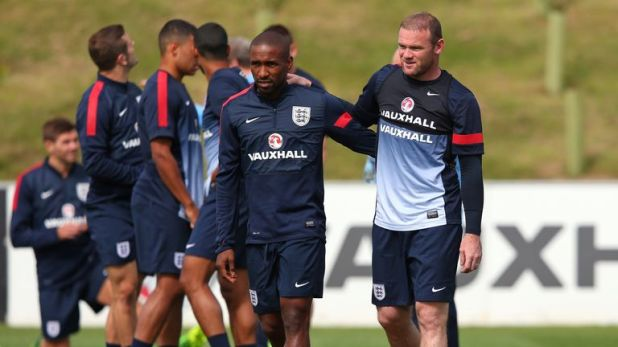 Jermain Defoe and Wayne Rooney were regular team-mates for England