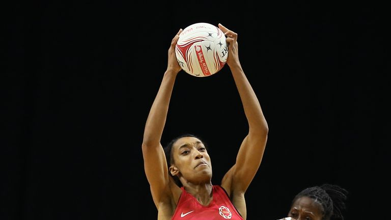 Layla Guscoth has been ruled out for the rest of England's Series against Uganda