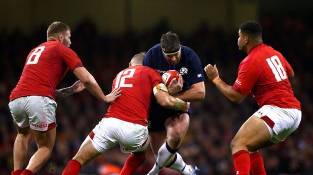 Scotland lost to Wales in their opening autumn Test on Saturday