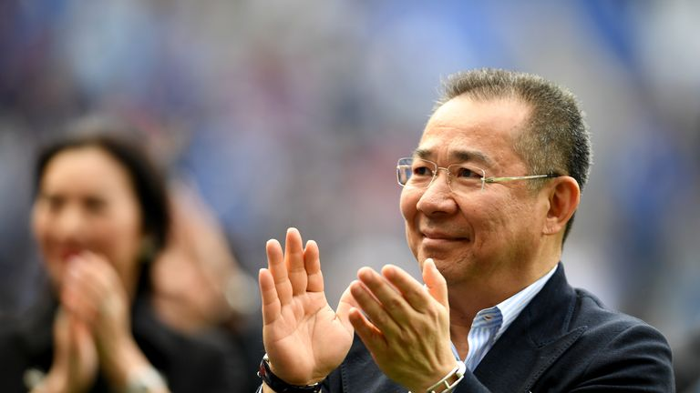 Leicester City owner Vichai Srivaddhanaprabha was among five people killed in the crash outside the King Power Stadium