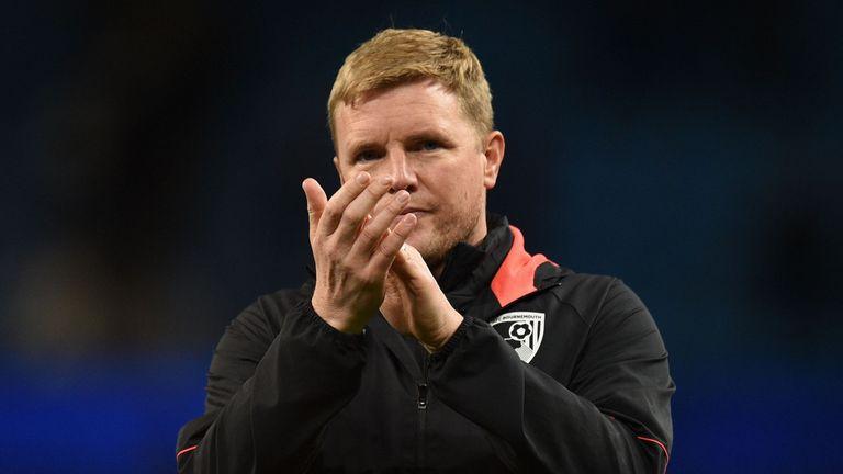 Eddie Howe's Bournemouth obtuvo una muy necesaria victoria entre semana sobre Huddersfield