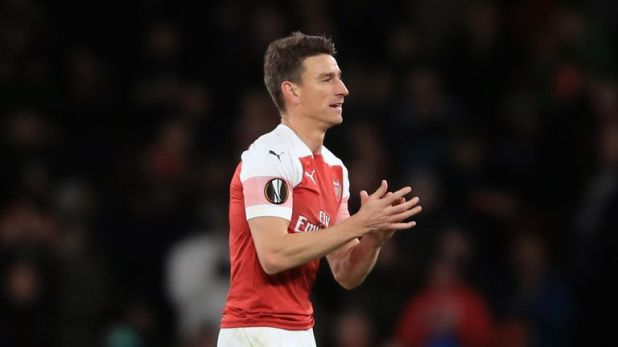 Koscielny joined Arsenal from Ligue 1 side Lorient in 2010