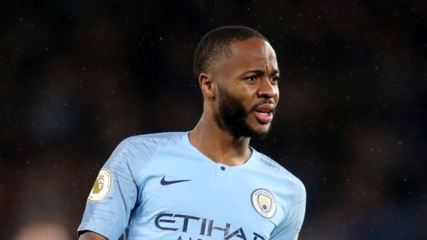 Raheem Sterling was the target of alleged racist abuse from Chelsea supporters at Stamford Bridge