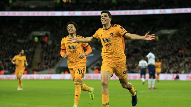Raul Jimenez scored in Wolves' famous win at Wembley