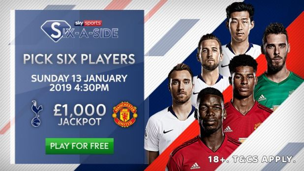 Play Six-a-Side for the chance to win £1,000!