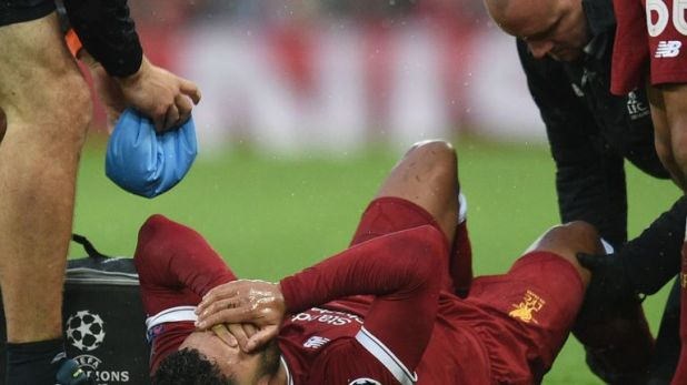Oxlade-Chamberlain injured knee ligaments against Roma in the 2018 Champions League semi-final