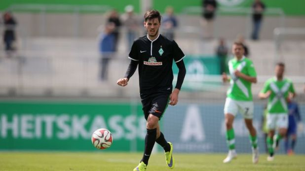 Florian Grillitsch, pictured during his time with Werder Bremen, is wanted by Tottenham