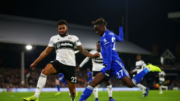 Fousseni Diabate last played for Leicester at Fulham on December 5