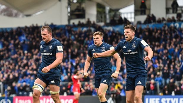 Leinster recorded a bonus-point win over Toulouse at the RDS Arena on Saturday
