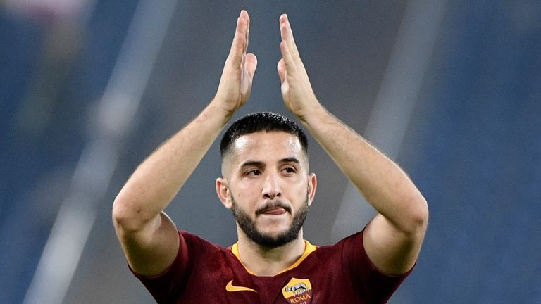 Roma defender Kostas Manolas is expected to feature after shaking off an injury