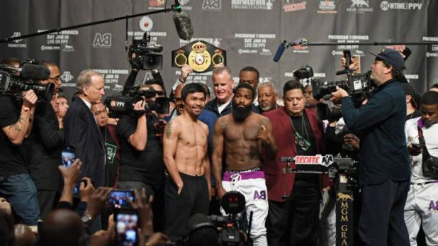 Broner was roundly booed but vowed to do it for 'the hood'