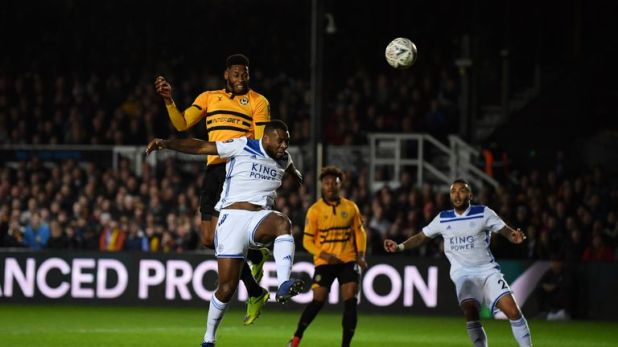 Leicester were knocked out of the FA Cup by League Two side Newport