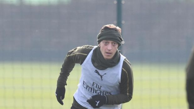 Mesut Ozil has started barely half of Arsenal's Premier League games this season