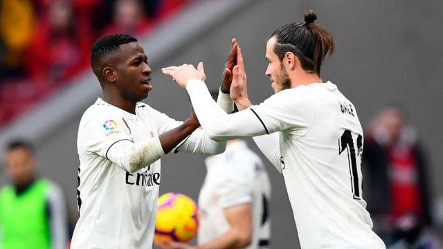 Gareth Bale has lost his starting spot to Vinicius Junior