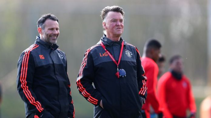 Ryan Giggs was the manager of Manchester United before van Gaal took the lead in the summer of 2014