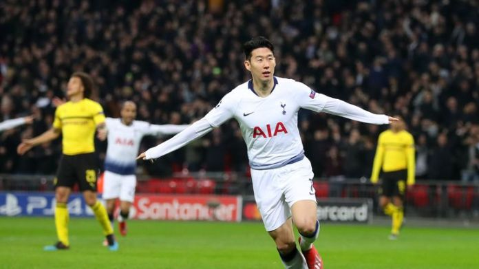 Tottenham won every match in which Heung-Min Son scored this season