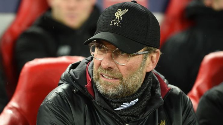 Klopp goes up against Solskjaer for the first time on Sunday  KLOPP SPEAKS ABOUT SOLSKJAER AHEAD OF PREMIER LEAGUE CLASH BETWEEN MAN UNITED AND LIVERPOOL skysports jurgen klopp liverpool 4583832