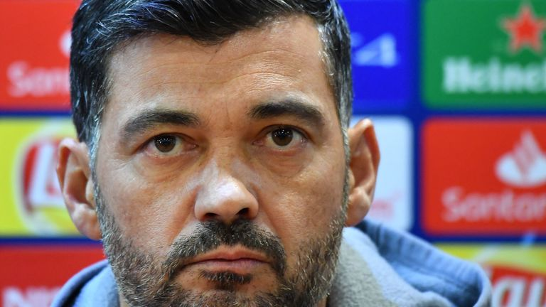 Sergio Conceicao is relishing Tuesday's return to the Italian capital