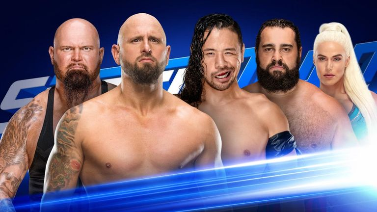 Shinsuke Nakamura and Rusev form an unlikely alliance to take on Luke Gallows and Karl Anderson tonight
