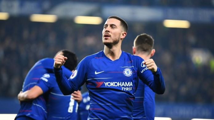 """Eden Hazard says that Chelsea must """"qualify for the Champions League"""