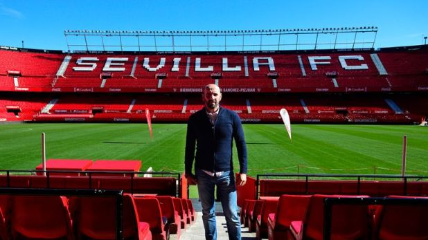 Monchi was appointed Sevilla's director of football in 2000
