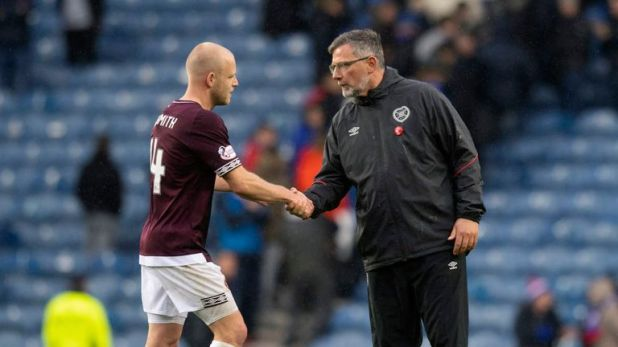 Levein is refusing to take a gamble on Steven Naismith's fitness