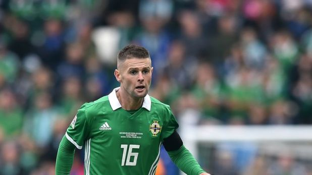 Oliver Norwood missed Northern Ireland's wins over Estonia and Belarus