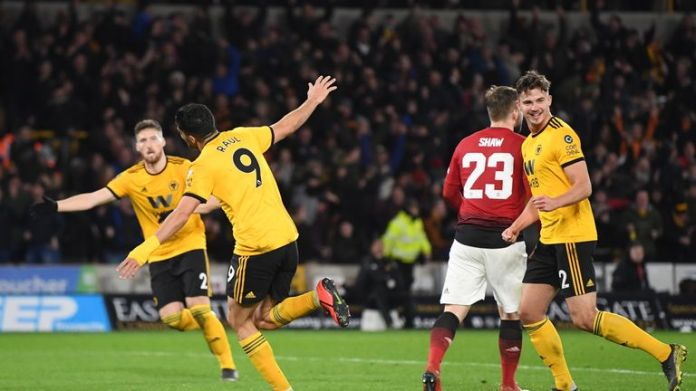 The wolves reached the FA Cup semi-finals for the first time since 1998 with the victory over Manchester United