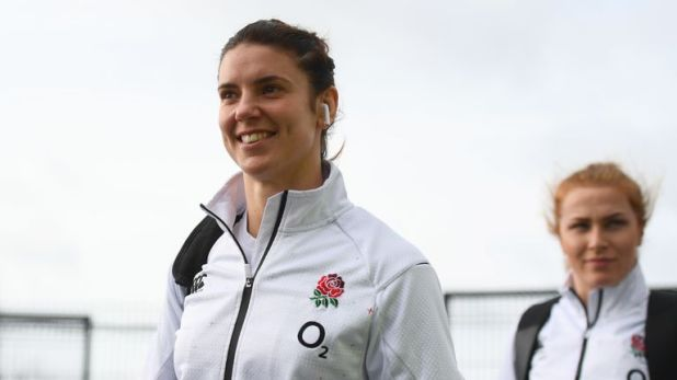 England skipper Sarah Hunter hoping to win her first Grand Slam at  Twickenham