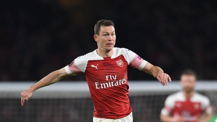 Stephan Lichtsteiner is out of contract at the Arsenal in the summer