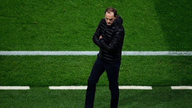 Thomas Tuchel saw his PSG side lose to a stoppage-time VAR penalty